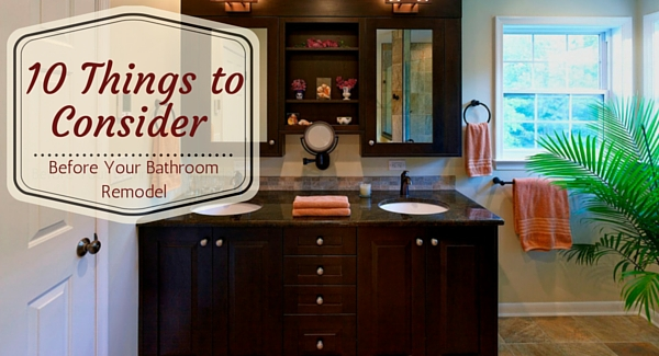 Before Your Bathroom Remodel