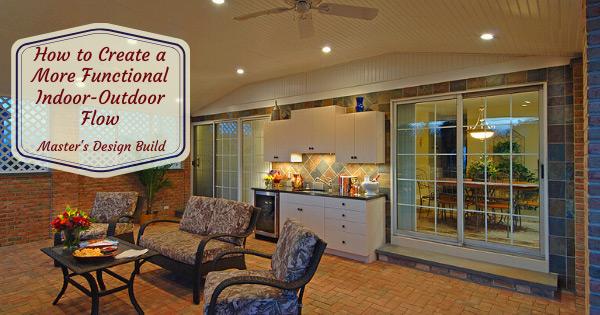 Functional idoor out door flow to outdoor livingroom.