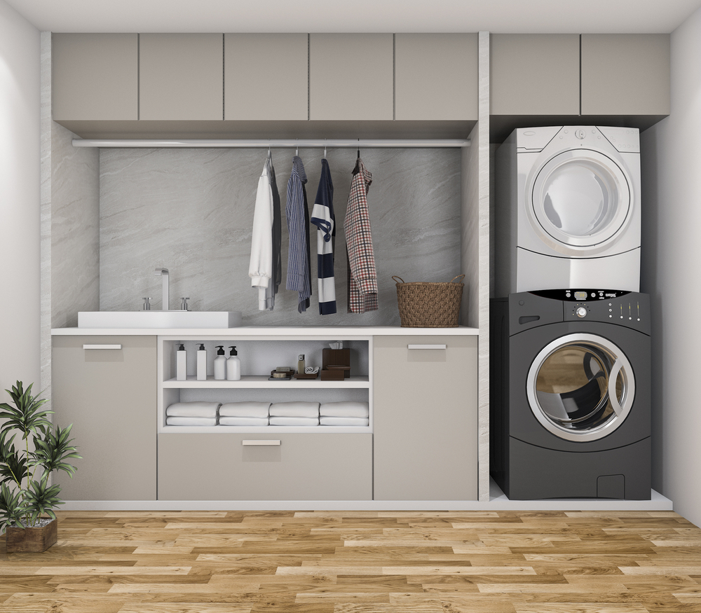 Masters Design Build Laundry Room